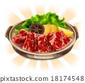 真实 日本菜烤肉 日本食品 18174548