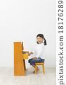 演奏 豎式鋼琴 鋼琴 18176289