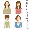 女性 女 女人 18183525