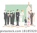 婚礼 小教堂 晚礼服 18185920