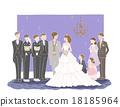 婚禮 歡迎宴會 接待 18185964