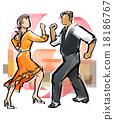 交誼舞 舞 舞蹈 18186767
