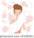 一位女士洗澡 18186961