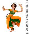 Indian dancer 18188383