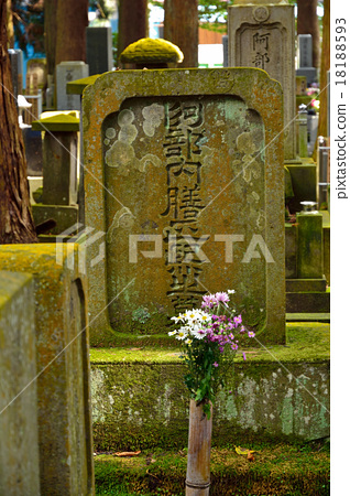 Shirakawa-shi Walk walking: Tanagura Domain Old-fashioned Tombs of the Abe Atsukenji Jodo Shosetsu Tenzenji 18188593