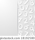 abstract, number, numeral 18192580