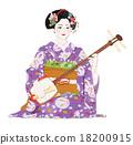 女性 歌舞伎 日式服裝 18200915