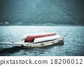 湖泊 防波堤 碼頭 18206012