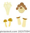 杏鮑菇 日本朴樹 蟹味菇 18207094