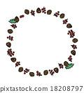 松果 松球 莓 18208797