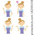 女性 女 女人 18209158