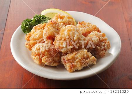 油炸的 油炸食品 鸡 18211329