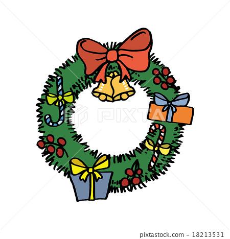 크리스마스리스, 크리스마스 리스, 크리스마스 18213531