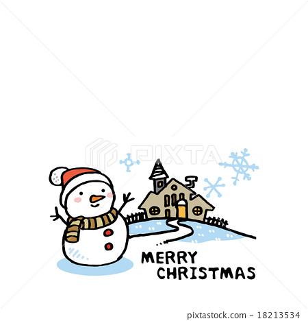 눈사람과 집 18213534