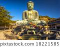 Kamakura Buddha, japan. 18221585