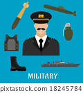 military, profession, flat 18245784