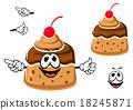 caramel, creme, pudding 18245871