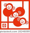 猴生肖 猴子 猴 18246090