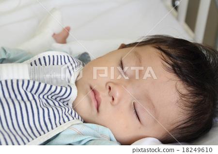 Child's hospitalization 18249610