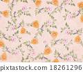 꽃잎, 무늬, 직물 18261296