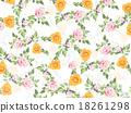 꽃잎, 무늬, 직물 18261298
