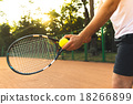 Concept for male tennis player 18266899