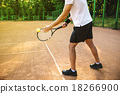 Concept for male tennis player 18266900
