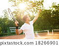 Concept for male tennis player 18266901