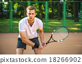 Concept for male tennis player 18266902