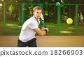 Concept for male tennis player 18266903