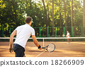 Concept for male tennis players 18266909