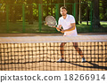 Concept for male tennis player 18266914