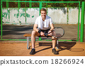 Concept for male tennis player 18266924