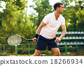 Concept for male tennis player 18266934
