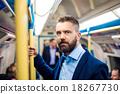 Businessman in subway 18267730