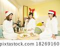 女性 耶誕節 尤爾 18269160