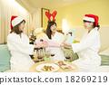 女性 耶誕節 尤爾 18269219