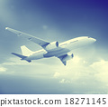 Airplane Plane Flying Aircraft Transportation Travel 18271145