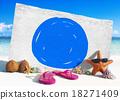 Vacation Summer Holidays Blue Marker COncept 18271409