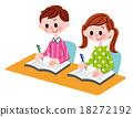 Elementary school student 18272192