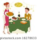夫妇 一对 情侣 18278633