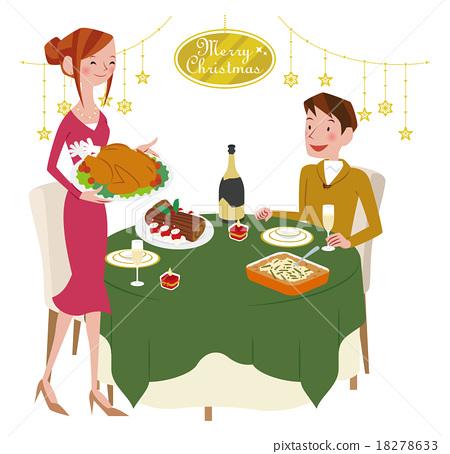 聖誕趴 聖誕晚會 聖誕舞會 18278633