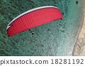 滑翔傘 飛翔 海景 18281192
