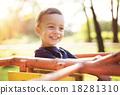 Cute little boy 18281310