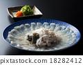 河豚魚 河豚 河豚魚生魚片 18282412