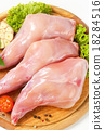 Raw rabbit meat 18284516