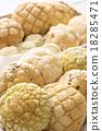 蜜瓜包 麵包 小甜麵包 18285471