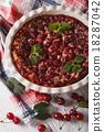 cherry, clafoutis, pie 18287042