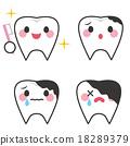 牙齒 齒輪 人物 18289379