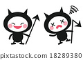 bacterium, germ, character 18289380